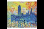 Diamond Dotz - London Parliament in Winter - Après Monet (Diamond Painting Kit)