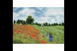 Diamond Dotz - Poppy Fields - Monet (Diamond Painting Kit)