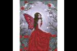 Diamond Dotz - Winter Rose Fairy (Diamond Painting Kit)