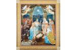 Diamond Dotz - Nativity Scene (Diamond Painting Kit)