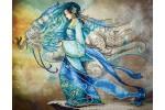 Diamond Dotz - Dragon Princess (Diamond Painting Kit)