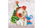 Diamond Dotz - Pup and Mouse (Diamond Painting Kit)