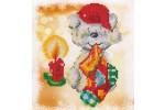 Diamond Dotz - Puppy Stocking (Diamond Painting Kit)