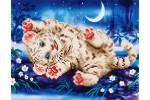 Diamond Dotz - Baby Tiger Roly Poly (Diamond Painting Kit)