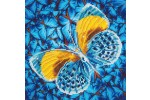 Diamond Dotz - Flutter by Gold (Diamond Painting Kit)