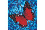 Diamond Dotz - Flutterby Red (Diamond Painting Kit)