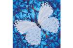 Diamond Dotz - Flutterby White (Diamond Painting Kit)