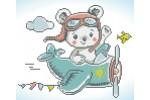 Diamond Dotz - Aero Bear (Diamond Painting Kit)