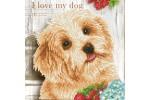 Diamond Dotz - I Love My Dog (Diamond Painting Kit)