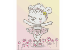 Diamond Dotz - Ballet Bear (Diamond Painting Kit)