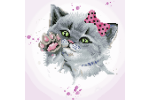 Diamond Dotz - Eye Spy Kitty (Diamond Painting Kit)