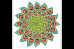 Diamond Dotz - Peacock Mandala (Diamond Painting Kit)