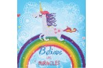 Diamond Dotz - Believe in Miracles (Diamond Painting Kit)