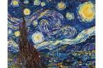 Diamond Dotz - Van Gogh - Starry Night (Diamond Painting Kit)
