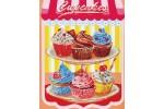 Diamond Dotz - Cupcakes (Diamond Painting Kit)