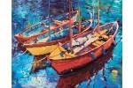 Diamond Dotz - Dream Boats (Diamond Painting Kit)