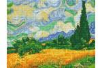 Diamond Dotz - Van Gogh - Wheat Fields (Diamond Painting Kit)