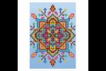 Diamond Dotz - Greeting Card - Blue Star (Diamond Painting Kit)
