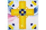 Diamond Dotz - Golden Cross (Diamond Painting Kit)