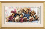 Dimensions - Gold - A Row Of Love (Cross Stitch Kit)