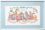 Dimensions - Birth Record - Toy Shelf (Cross Stitch Kit)