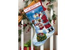 Dimensions - Gold - Holiday Glow Stocking (Cross Stitch Kit)