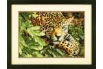 Dimensions - Gold - Leopard In Repose (Cross Stitch Kit)