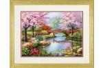 Dimensions - Gold - Japanese Garden (Cross Stitch Kit)