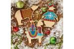 Dimensions - Animal Wood Ornaments (Cross Stitch Kit)