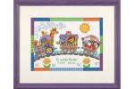 Dimensions - Birth Record - Baby Express (Cross Stitch Kit)