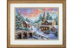 Dimensions - Gold - Holiday Village (Cross Stitch Kit)