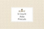 DMC Aida - 6 Count - Precuts