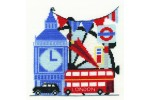 DMC - Tourism in London (Cross Stitch Kit)