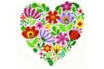 DMC - Bouquet of Love by Durene Jones (Cross Stitch Kit)