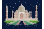 DMC - Glow in the D'Architecture - Taj Mahal by Night (Cross Stitch Kit)