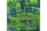 DMC - Claude Monet - The Water Lily Pond (Cross Stitch Kit)