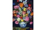 DMC - Bosschaert - Still Life of Flowers (Cross Stitch Kit)