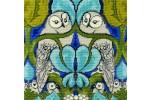 DMC - Charles Voysey - The Owl Cushion Panel (Tapestry Kit)