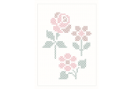 DMC Magic Paper Sheets - Flowers Collection (Cross Stitch)