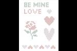 DMC Magic Paper Sheets - Love Collection (Cross Stitch)