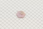 Drops Flower Shaped,  Mother of Pearl Button, Blush Pink, 15mm