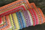 Look At What I Made - Namaqualand Blanket (Scheepjes Stone Washed Yarn Pack)
