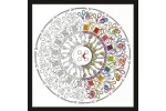 Design Works - Zenbroidery - Sewing Mandala (Embroidery Kit)