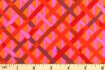 Kaffe Fassett Collective - Brandon Mably - Mad Plaid - Red