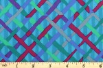 Kaffe Fassett Collective - Brandon Mably - Mad Plaid - Turquoise