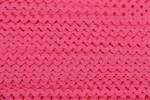 Ric Rac - Polyester - 8mm wide - Cerise (per metre)