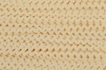 Ric Rac - Polyester - 8mm wide - Natural (per metre)