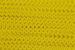 Ric Rac - Polyester - 8mm wide - Yellow (per metre)