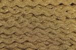 Ric Rac - Polyester - Metallic - 10mm wide - Gold Metallic (per metre)
