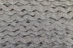 Ric Rac - Polyester - Metallic - 10mm wide - Silver Metallic (per metre)